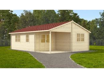 Holz-Sommerhaus LORA 6 x...
