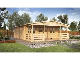 Holz-Sommerhaus Spagna...