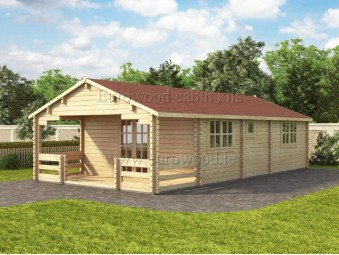 Holz-Sommerhaus TYP 5 x...