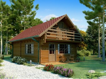 Holz-Sommerhaus LINCOLN...