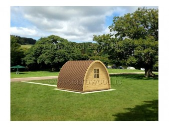 Holz-Camping POD 3x3m...